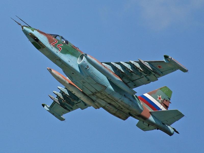 ВВС Туркмении и Азербайджана оснащены штурмовиками Су-25.