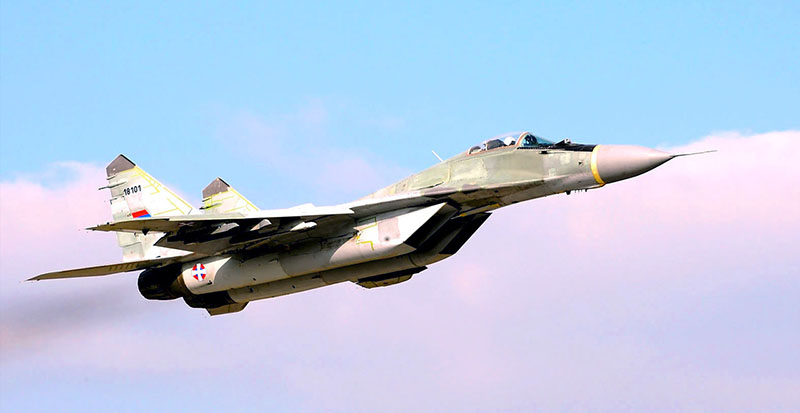 Истребитель ВВС Сербии