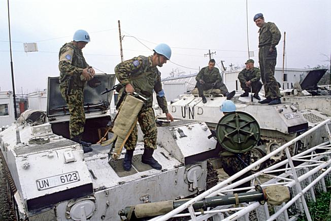 Российский батальон миротворческих сил ООН