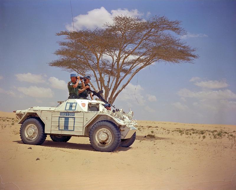 Вооруженные силы ООН в секторе Газа, 1958 год