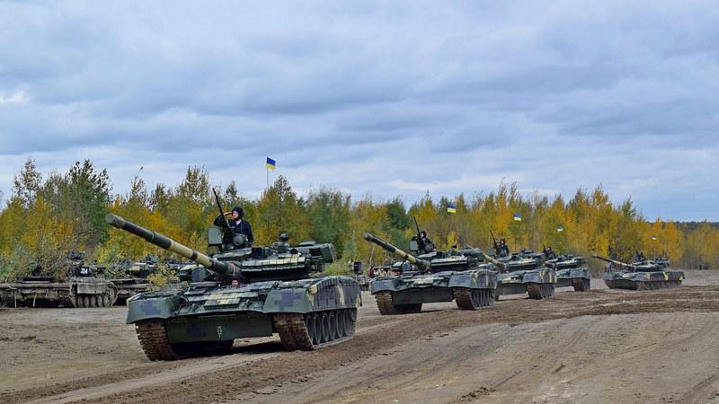 Украинский танк «Оплот»