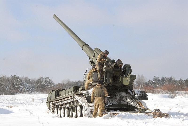 САУ «Пион» ВС Украины