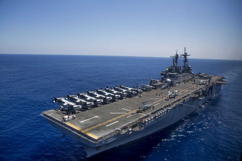 Универсальный десантный корабль USS Wasp
