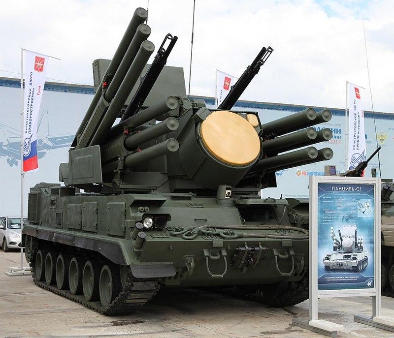 Зенитный ракетный пушечный комплекс «Панцирь-С»