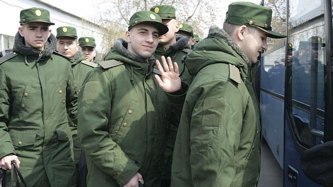 В армию - через профотбор