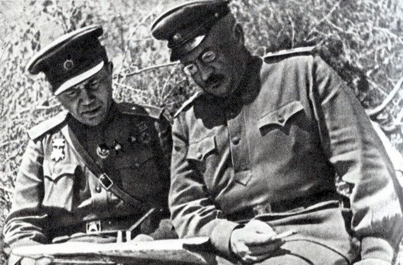 Командующий Приморской армии генерал Иван Ефимович Петров