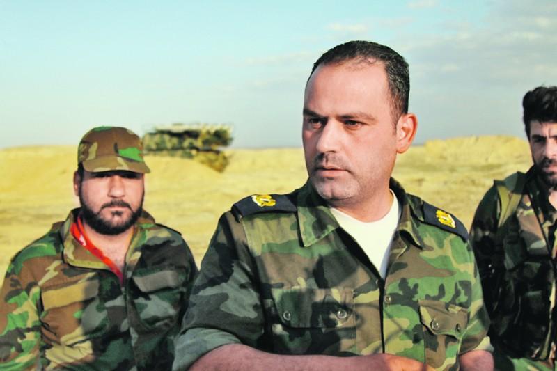 Командир расчета ЗРК «Бук» майор Мухамед (справа) и его подчиненные ждали удара больше трех суток