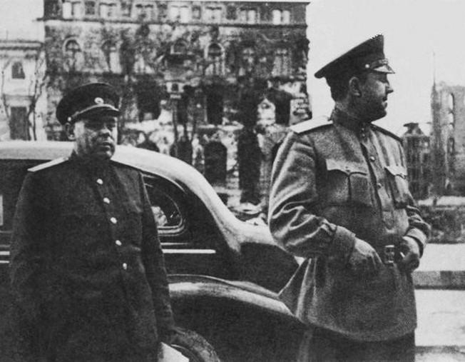 Виктор Абакумов - начальник СМЕРШа