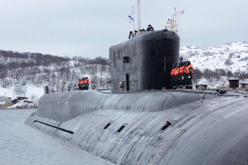 АПЛ проекта 955 «Борей» «Владимир Мономах».