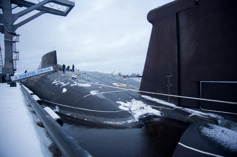 РПКСН проекта 941 «Дмитрий Донской».