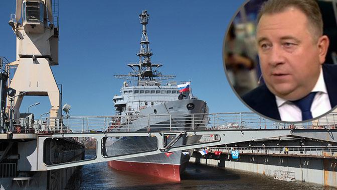 «До последнего шурупа»: глава ОСК рассказал о 3D-технологиях в российском кораблестроении