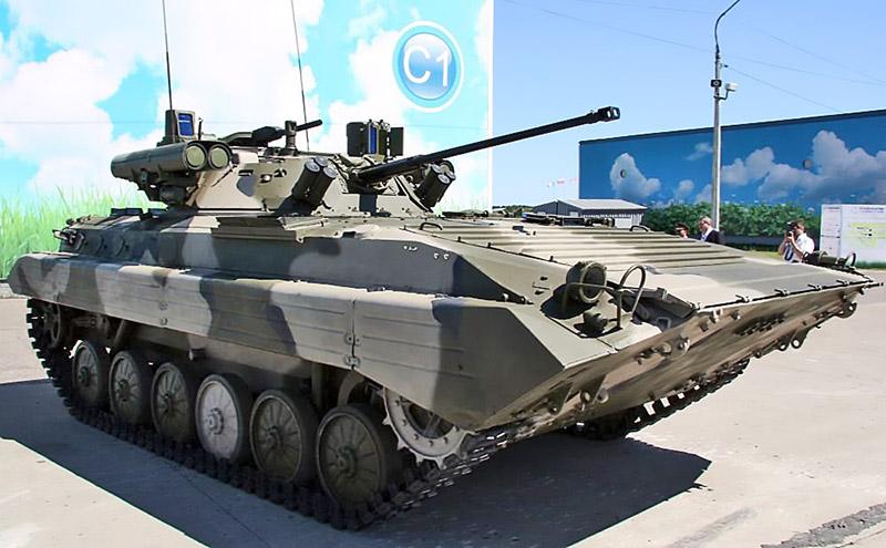 БМП-2М «Бережок» поступил на вооружение в таманскую дивизию.