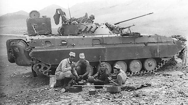 БМП-2 проходила обкатку в боевых условиях Афганистана.