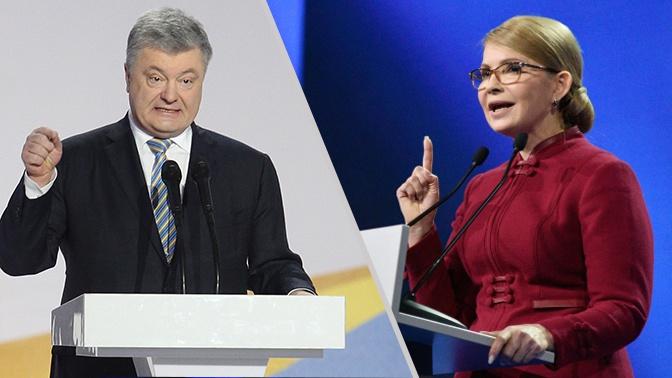 Война компроматов: на что пойдут Порошенко и Тимошенко ради победы на выборах