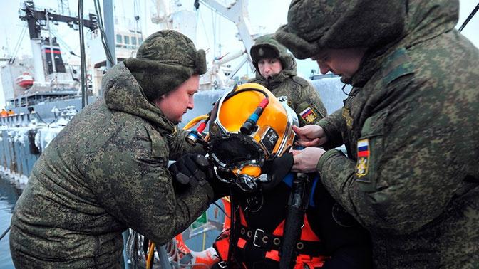 Водолазы Северного флота завершают подготовку к конкурсу «Глубина-2109»