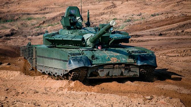 Опубликовано фото новой динамической защиты танка Т-80БВМ