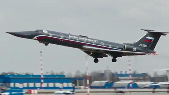 «Черная жемчужина»: опубликованы кадры облета Ту-134УБЛ после ремонта