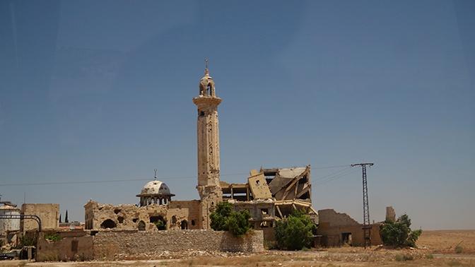 Впервые с 31 марта в Идлибской зоне деэскалации в САР не были зафиксированы обстрелы