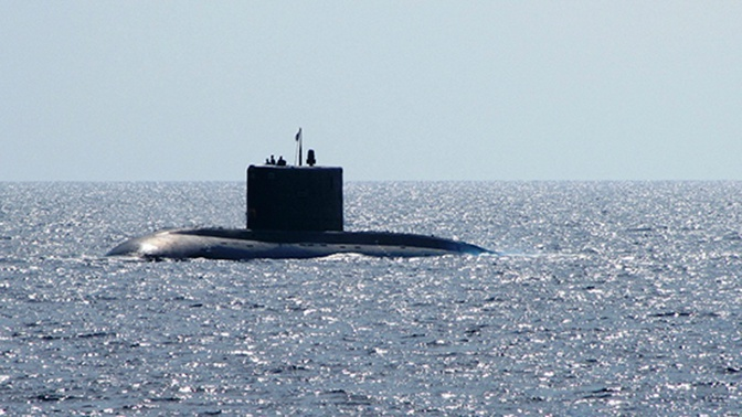 Военнослужащие ТОФ «спасли» экипаж подлодки в Японском море
