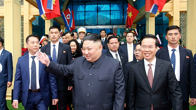 В КНДР анонсировали визит Ким Чен Ына в Россию