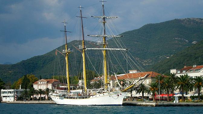 В Минобороны Черногории открестились от кокаина на борту парусника ВМФ