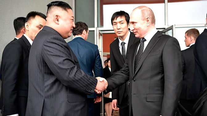 Ким Чен Ын пригласил Путина в КНДР