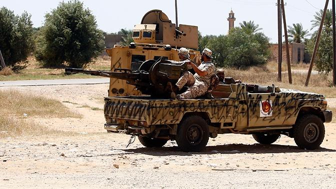 Армия Хафтара заявила об уничтожении штаба ПНС под Триполи