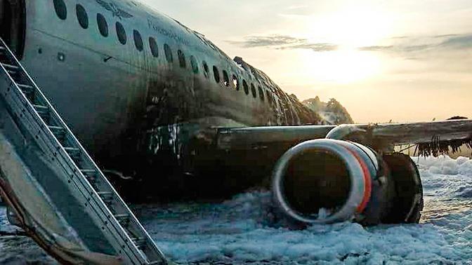Жесткая посадка SSJ-100: что произошло на ВПП Шереметьево