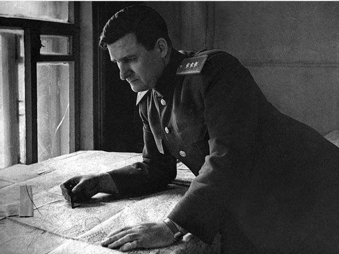 Генерал-полковник В.Д.Соколовский - командующий Западным фронтом. Планирование и проведение операции «Кутузов». 1943 г.<figcaption class=