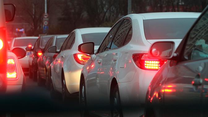 В Москве зафиксированы 10-балльные пробки