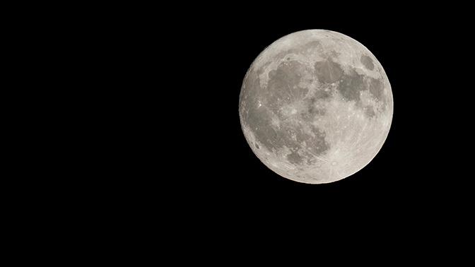 Москвичи увидят сближение Луны и Юпитера
