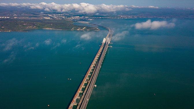 Минтранс подтвердил досрочное открытие железнодорожной части Крымского моста