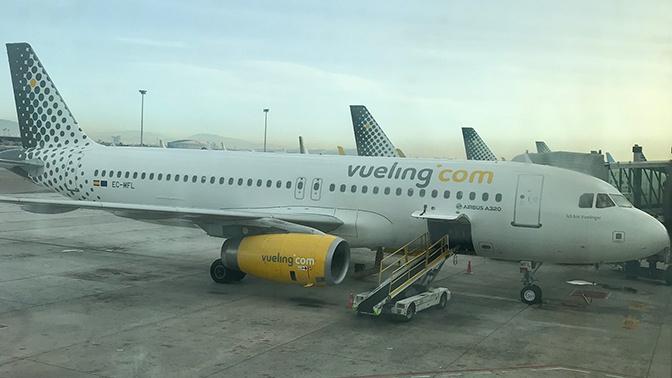 Экстренную посадку из-за угрозы взрыва совершил пассажирский самолет в Барселоне