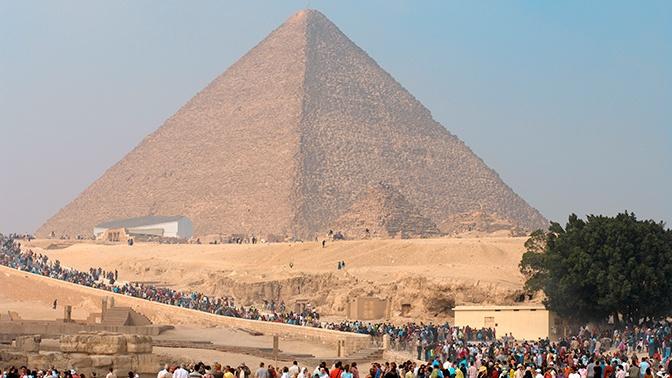 Ученые нашли «ключ» от дверей древнеегипетской пирамиды