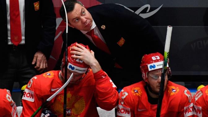 Сборная России по хоккею уступила финнам в полуфинале ЧМ