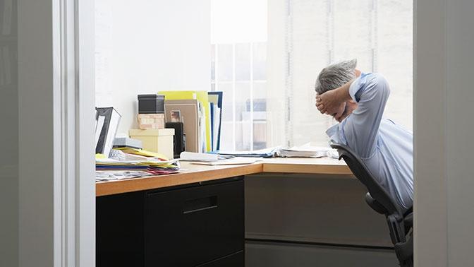 Синдром выгорания на работе признали болезнью