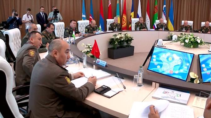 Развитие военного сотрудничества: итоги встречи глав Минобороны стран СНГ в Анапе
