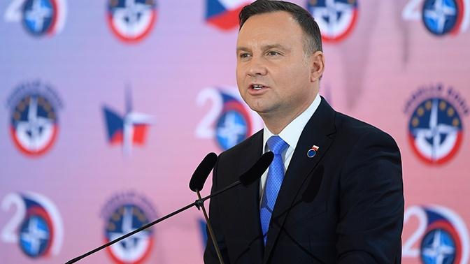 Дуда хотел бы, чтобы Россия и Польша были друзьями