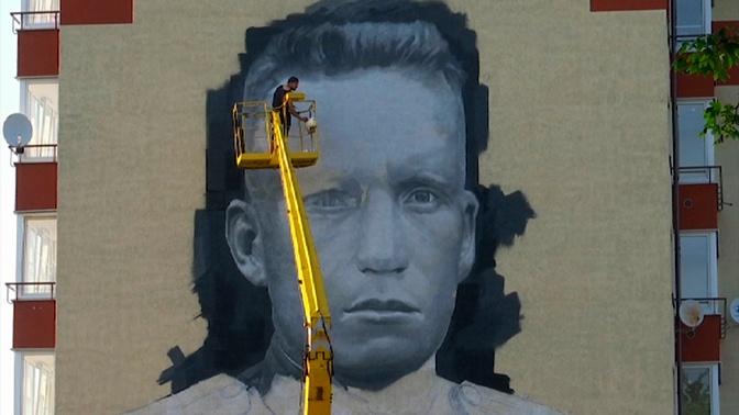 «Целый мир помнит их в лицо»: стены домов под Калининградом украсят портретами героев войны