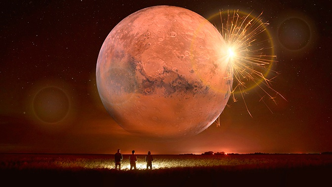 Астрономы рассказали о загадочных лунных вспышках