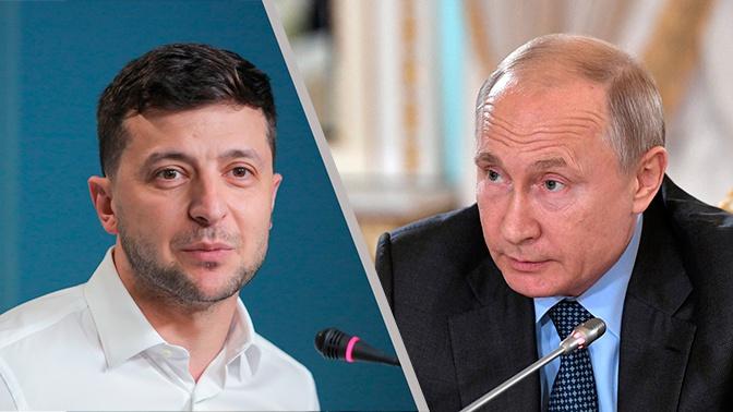 В Кремле ответили на озвученные Зеленским темы для беседы с Путиным