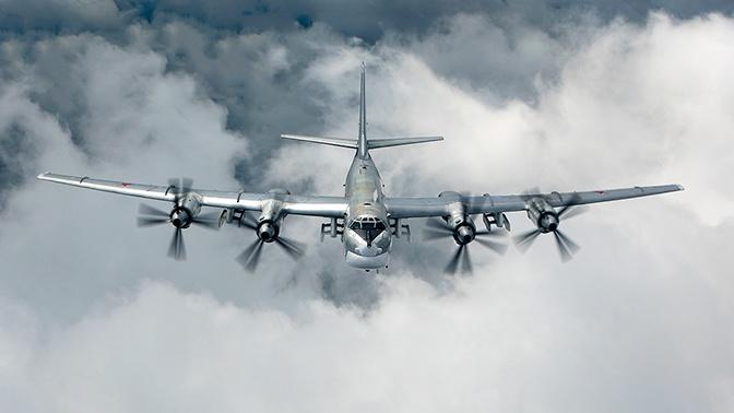 Истребители ВВС Японии сопроводили российские Ту-95МС