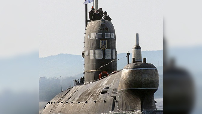 Россия утилизирует единственную подлодку ВМС Украины