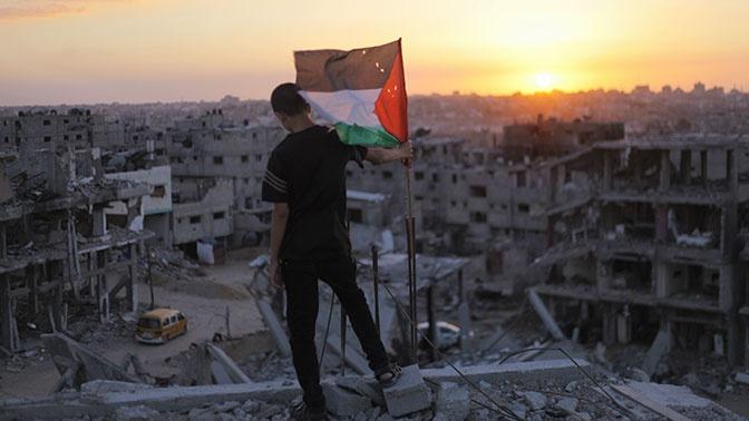 В США обнародовали план по обустройству Палестины