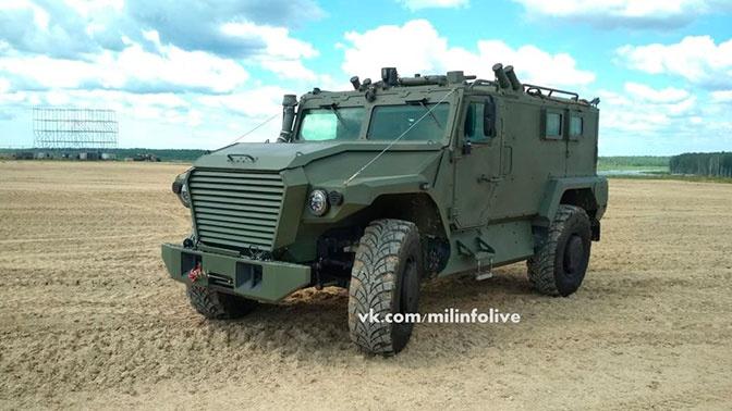 Первые фото армейского внедорожника «Тигр АСН» опубликовали в Сети