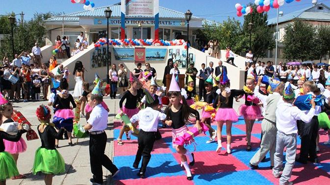 В Армении для детей военнослужащих российской военной базы открыли детский сад