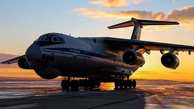 ВКС РФ получили два тяжелых транспортника Ил-76МД-М
