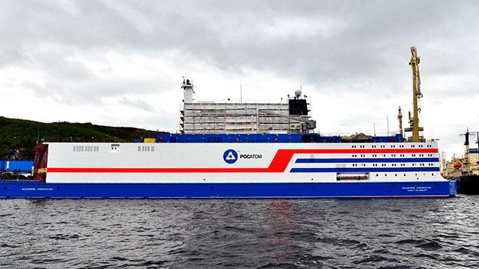 В России разрешили использовать первый в мире плавучий блок АЭС