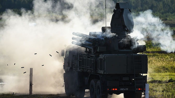 Названы сроки завершения испытаний модернизированного ЗРПК «Панцирь-С1М»