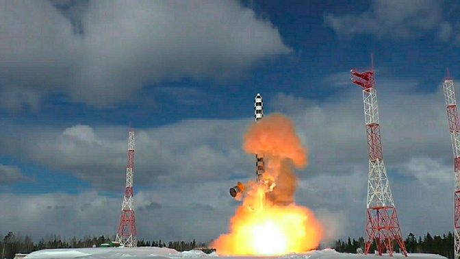 Раскрыты характеристики баллистической ракеты «Сармат»